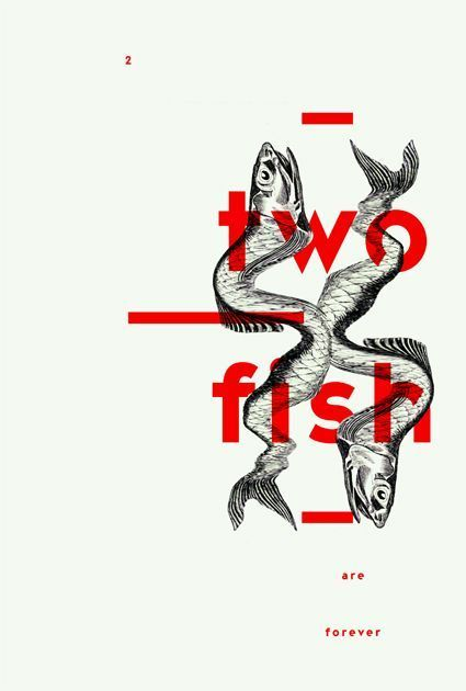 Creative element for 'two fish' by unknown…
