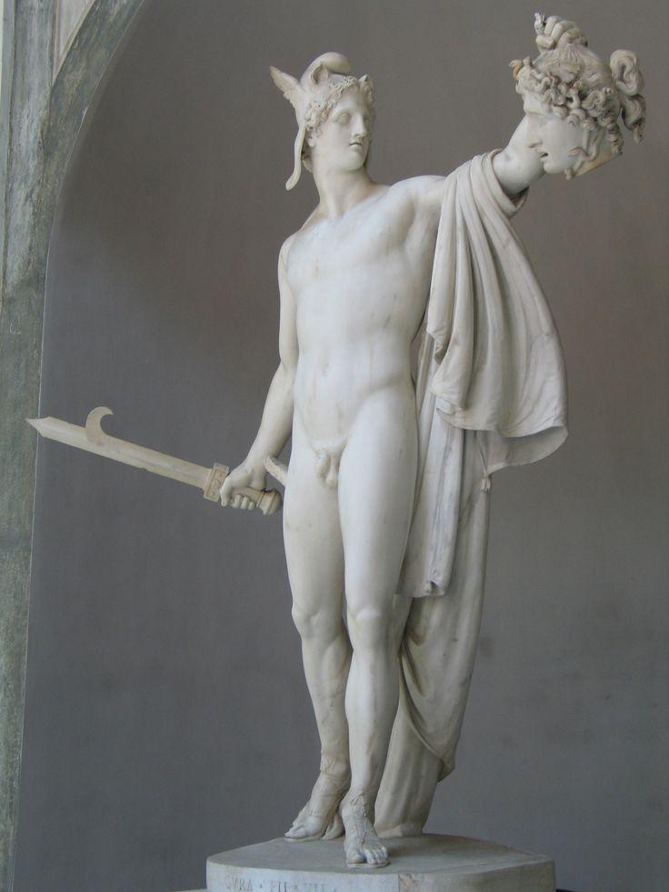 Perseo con la testa di Medusa (Perseo trionfante), 1797-1801, marmo, Museo Pio Clementino, Musei Vaticani, Roma