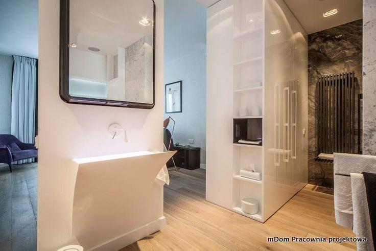 Otwarta łazienka