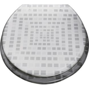 Buy Mosaic Toilet Seat - Silver at Argos.co.uk - Your Online Shop for Toilet seats.