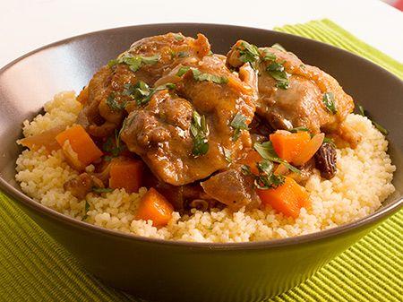 Cuscus con Pollo y Verduras                                                                                                                                                                                 Más