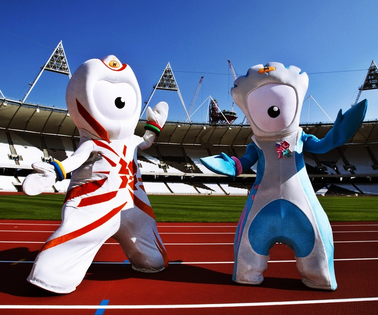 london olympic games 2012 mascot wenlock mandeville.