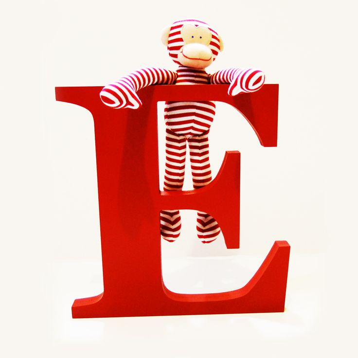 Thick Painted Wooden Letters. $29.70