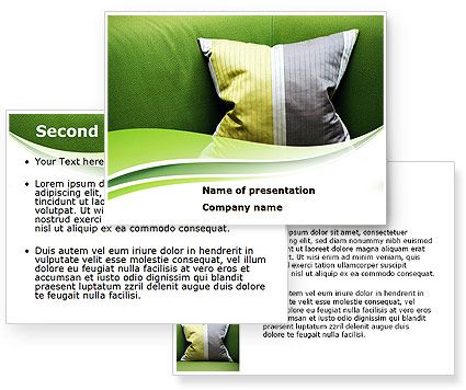 Caribbean Holidays  PowerPoint template with Caribbean Holidays  PowerPoint background for presentations is ready for download. Terrific PowerPoint template with pillow on the sofa in Jamaica colors on it can help for presentations on vacations, hotel presentation, recreation in Jamaica, traveling and tourism, holidays, dorms, hotels, interior design, modern styles, business-class services, Caribbean Sea, etc. http://www.poweredtemplate.com/08598/0/index.html