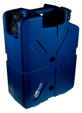 LIFESAVER jerrycan 20000. removes all bacteria, viruses, cysts, parasites, fungi and all other microbiological waterborne pathogens without the aid of any foul tasting chemicals like iodine or chlorine. The LIFESAVER jerrycan allows users to process up to 20,000 litres of clean sterile drinking water.