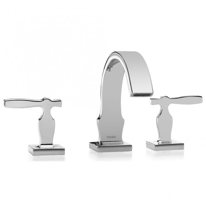 Waterfall Sink Faucet   Widespread Bathroom Faucet   Bronze Bathroom Faucet