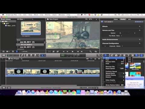 ▶ Final Cut Pro X: Tutorial - Slow Motion! *HD* - YouTube