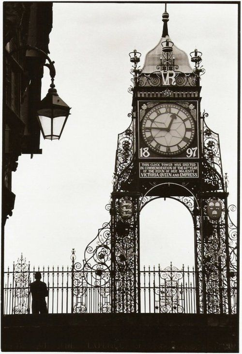 Clock Tower, Chester, England