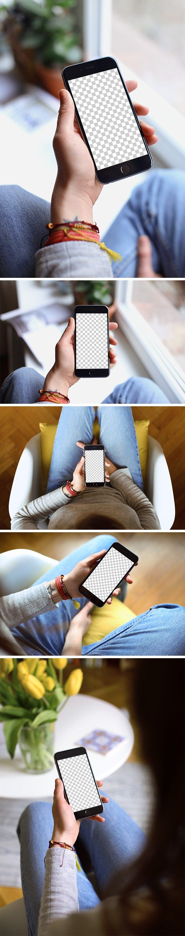 This time I present to you5 free iPhone 6 mockups created byMockuuups and di…