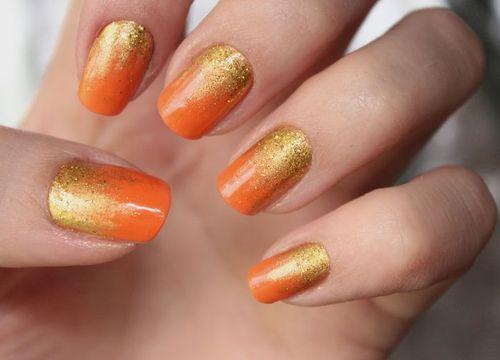 how to make golden orange color