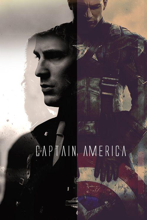 Captain America/Steve Rogers (Chris Evans) in Captain America: The First Avenger