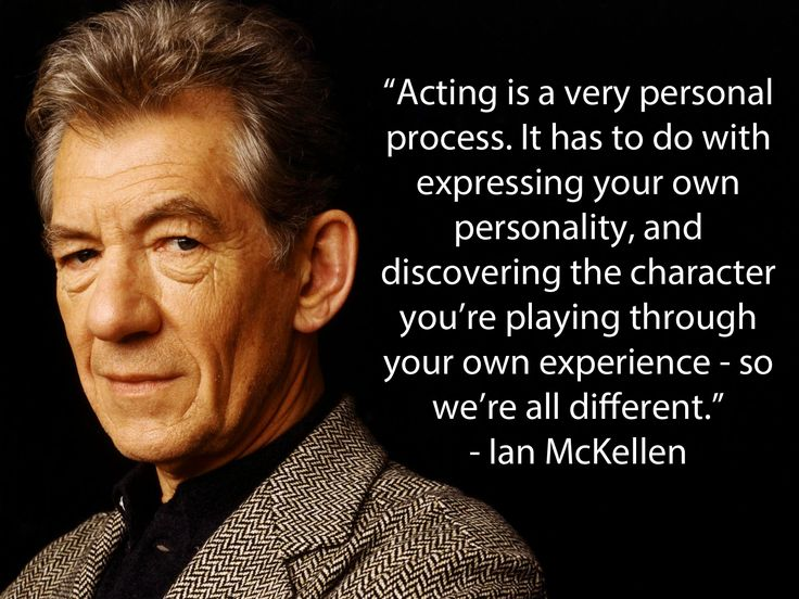 Ian McKellen. We just love this man.