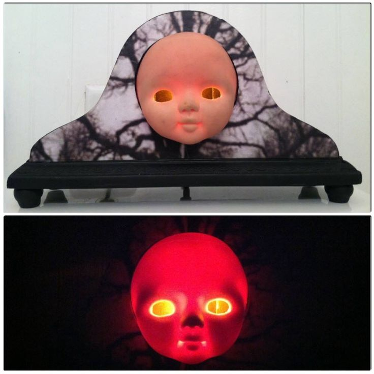52 best DOLL LAMPS images on Pinterest | Creepy dolls, Doll head ...