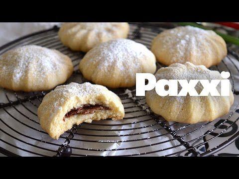 Γεμιστά μπισκότα με πραλίνα - Paxxi 1min C107 - YouTube
