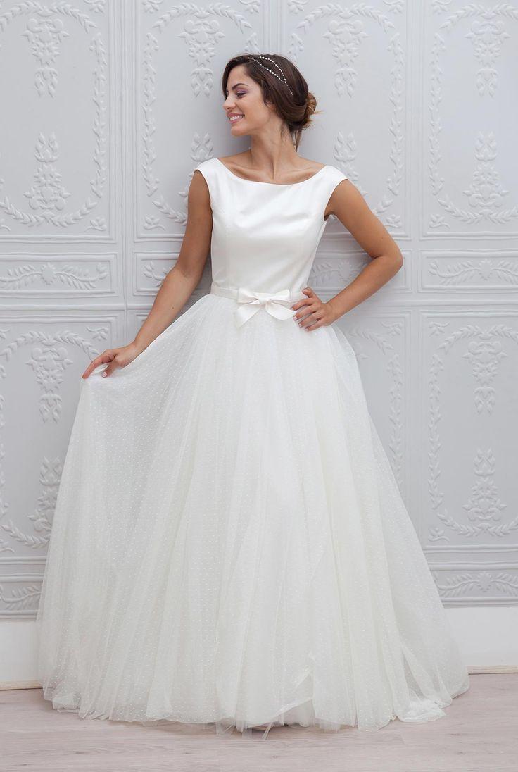 Robe de mariée Pivoine de Marie Laporte : 25 robes de mariée de princesse pour briller - Journal des Femmes