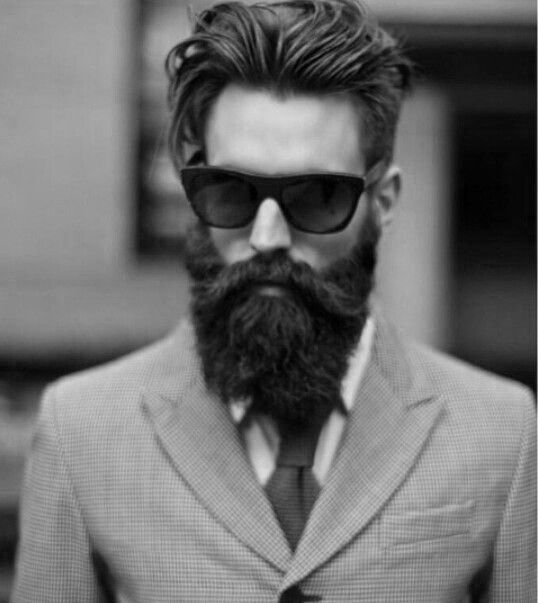 Hair Styles to go with the Beards.