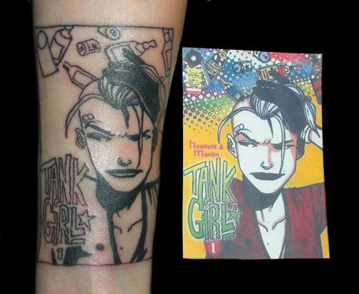 Tank Girl. So awesome.: Helena Vyan, Tattoo Ideas, Girl Tattoos, Comic Con Ideas, Girls Tattoo, Art, Devotional Tattoo, Tanks Girls, Favorite Girls