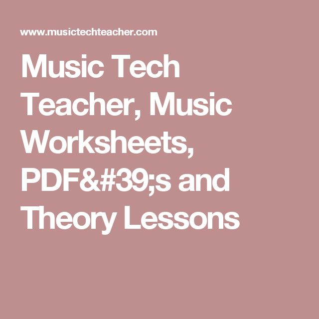 1000+ images about Worksheets on Pinterest | Teaching, Piano games ...