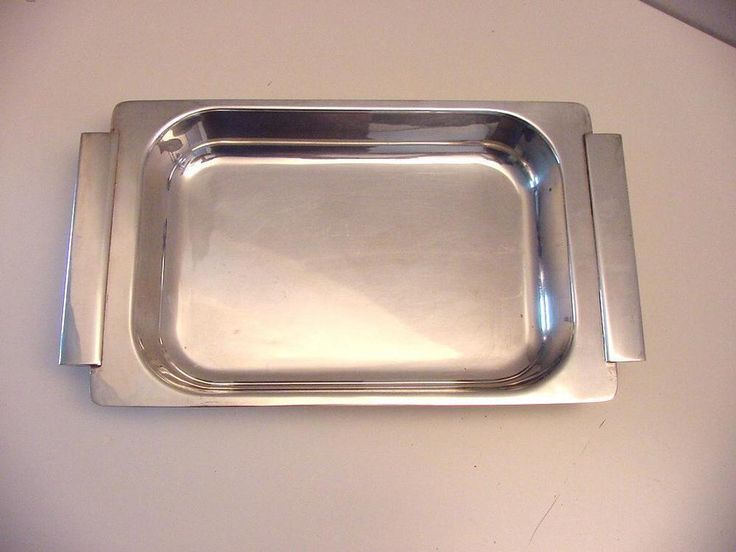 rectangular vintage Christofle dish Sabbatini Gallia range #Christofle