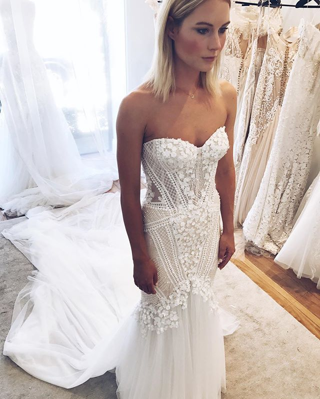 Congratulations to our beautiful Adelaide bride @annabel.whiting who married @robbiegray_9 in a stunning Melbourne ceremony yesterday. Love this dress rehearsal snap of her final fitting in custom Pallas Couture. Cannot wait to share the professional photographs of this stunning couple 💖 @pallascouture #pallascouture #finalfitting #pallasbride #realbride #hautecouture #weddingown #weddingdress #bridalstyle #bridetobe #bridalstyle #bride #australiandesigner #weddinginspiration #love