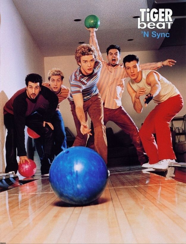 Every time they went bowling and wouldn't let Chris play because he sucks. | Definitive Proof That Justin Timberlake Has Always Held NSYNC Back