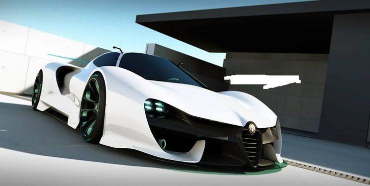 """Alfa Romeo Zero LM-C """"Concept Car"""""""