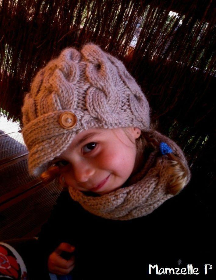 bonnet tricot enfant
