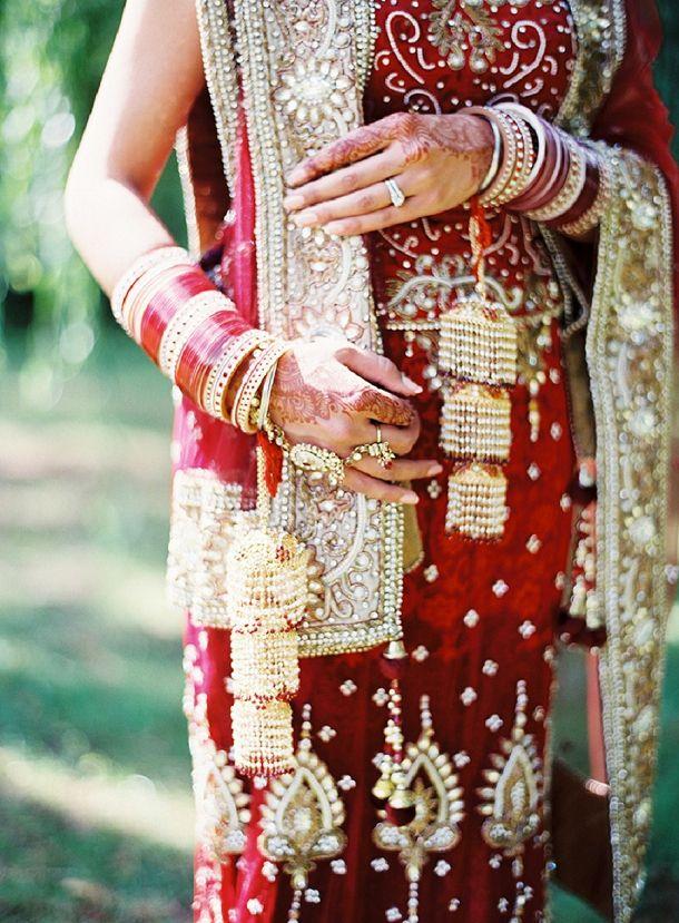 red & gold bride // @Aneta Kapron Kapron Kapron MAK