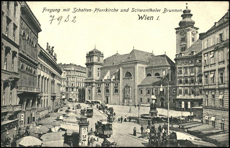 Ansichtskarten Online: Wien, I, Freyung