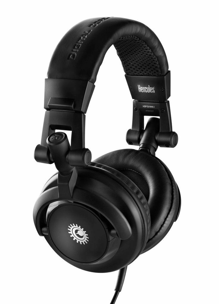 Hercules HDP DJ M40.1 Headphones | www.Ripster.co.uk