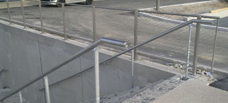 Main courante en acier inox / pour espaces publics - CITYNOX