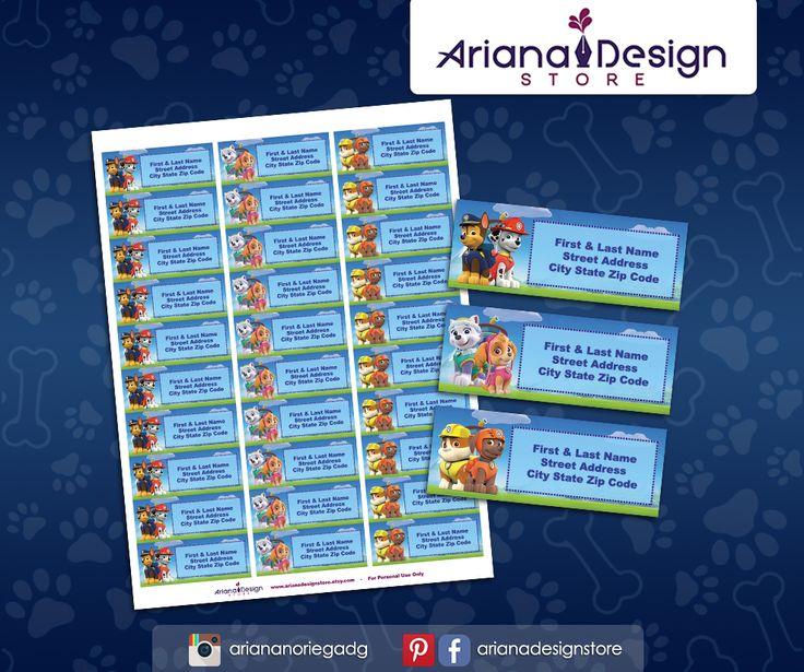 #etiquetas #etiquetasparadirecciones #patrullacanina #arianadesignstore #pawpatrol #addresslabel #partypawpatrol #label #mail #stickers #letter # #etiquetascolegio #fiestapawpatrol #nametag #pawpatrolstickers