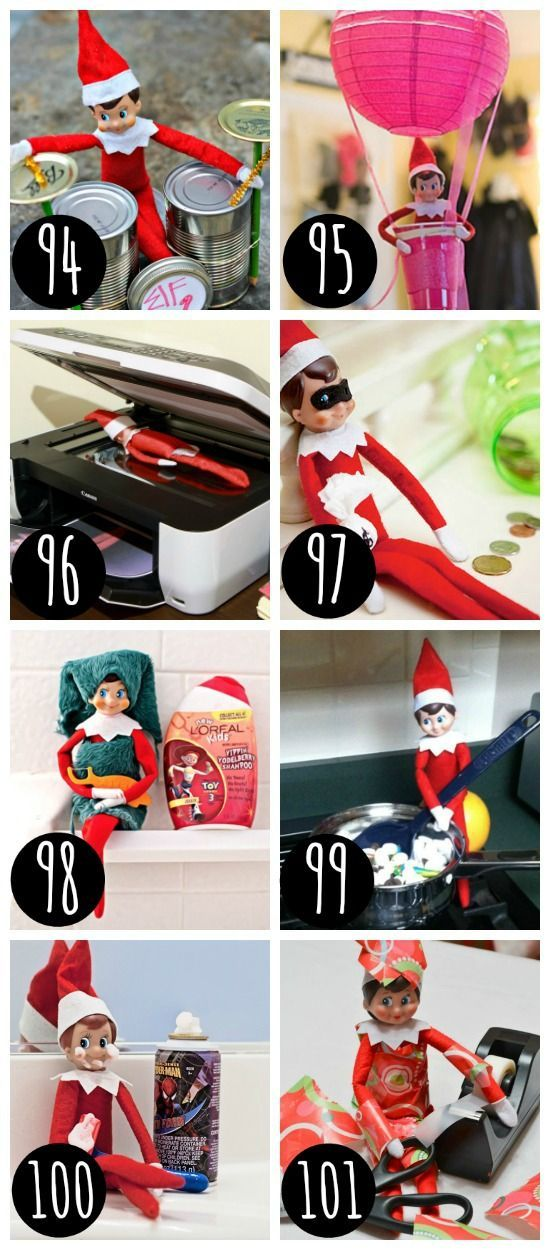 Elf on the Shelf for the entire family.