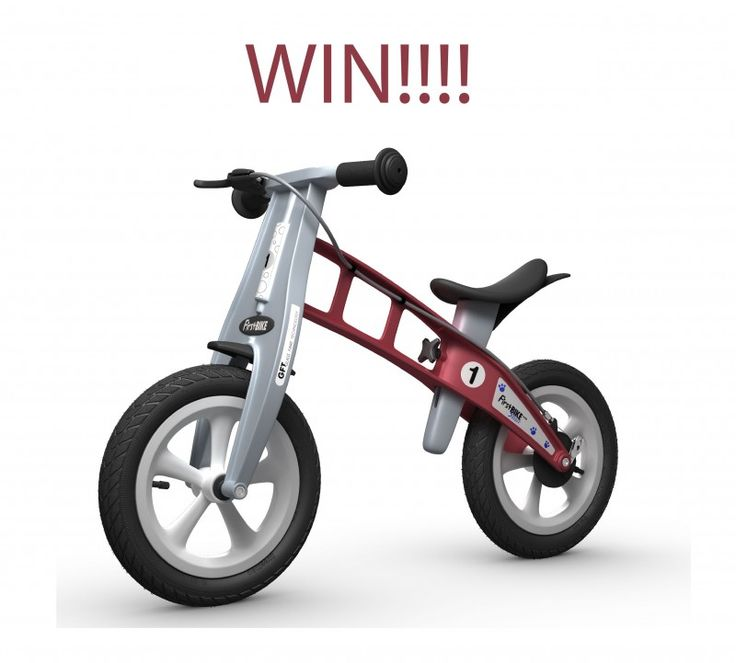Win A FirstBike Balance Bike!