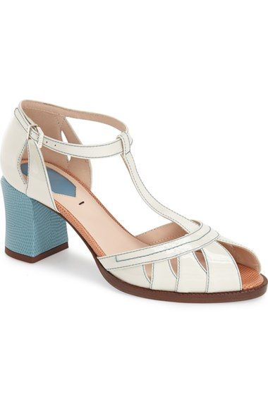 Fendi 'Chameleon' T-Strap Sandal (Women) available at #Nordstrom