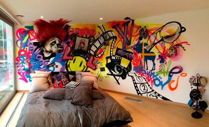 Grafite na decoração: dicas e inspirações em 16 imagens
