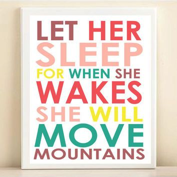 Best Baby Girl Sleeping Quotes Products on Wanelo