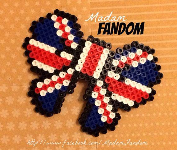 Royal Wedding Craft ideas in Hama Beads | Hama Flag Patterns ...