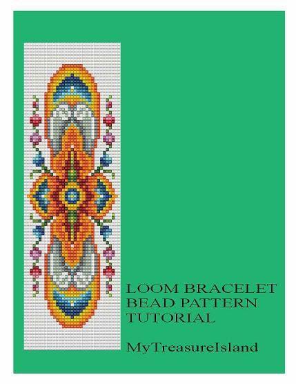 Bead Loom Vintage Motif 7 Bracelet