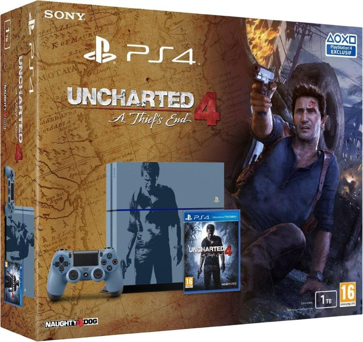 Console PS4 édition Collector Uncharted 4 A Thief's End - 1 To - Acheter vendre sur Référence Gaming