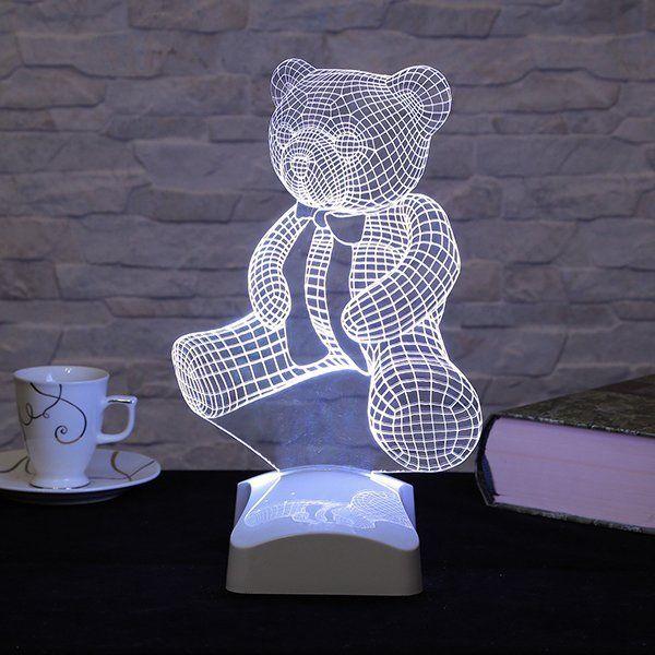 Fascinating 3D LED lamps