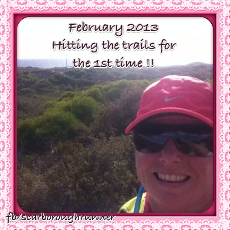 February 2013 Enjoying the trails for the first time !!