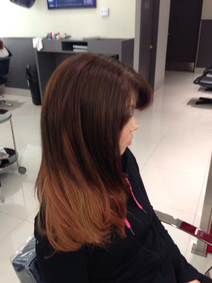 After with new loreal technology introducing the steam pod! Amazing straightening service!
