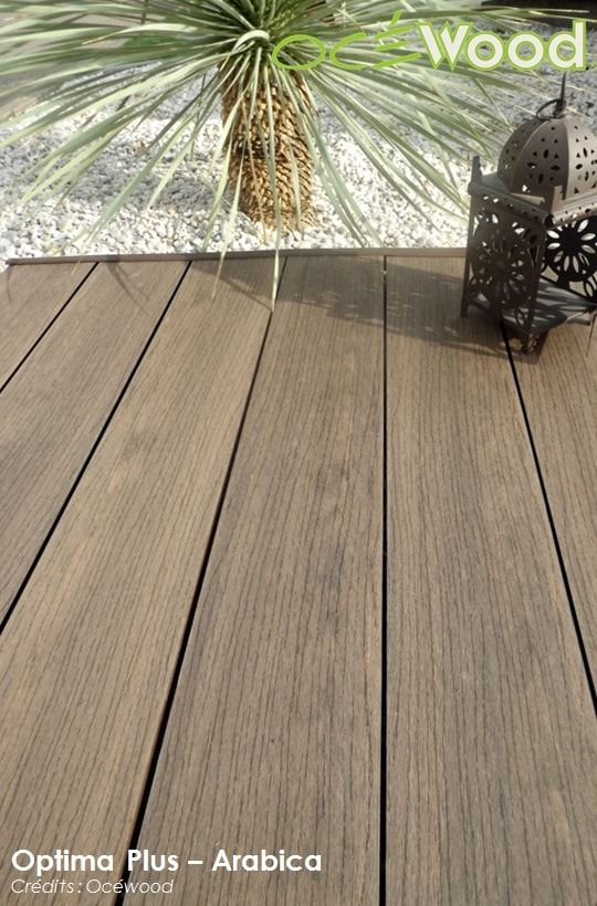 17 best images about terrasses ocewood on pinterest for Comdalles composites pour terrasse