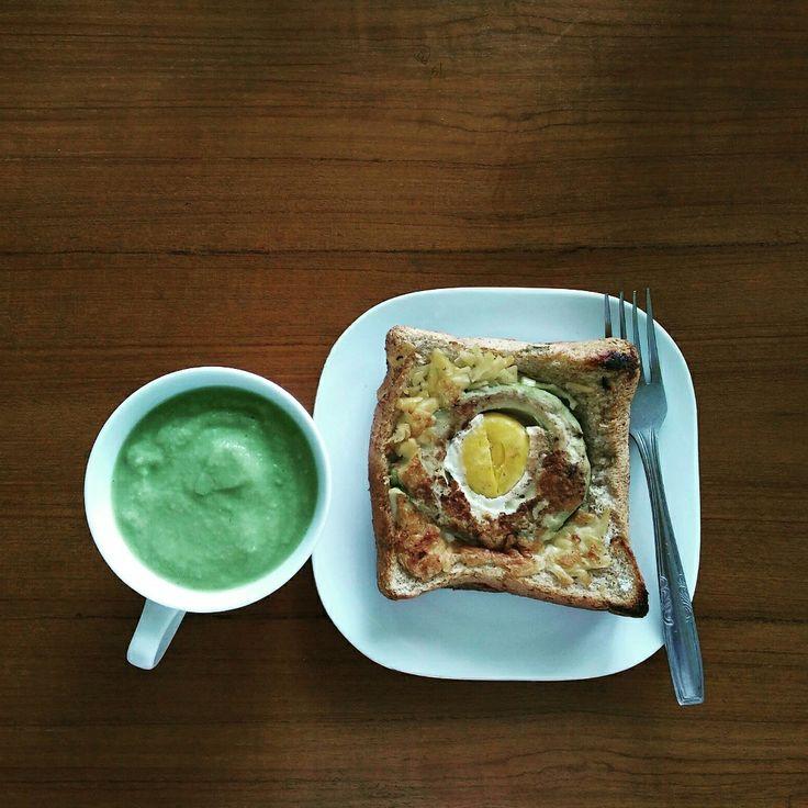 Duo avocado for breakfast #igotthecookingwave #sonicelife