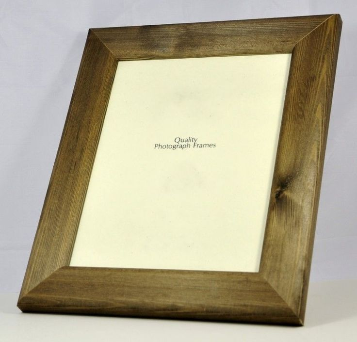 Solid Wood -Dark Walnut Photo/Picture Frame Extra Wide- Various Sizes available in Home, Furniture & DIY, Home Decor, Photo & Picture Frames | eBay