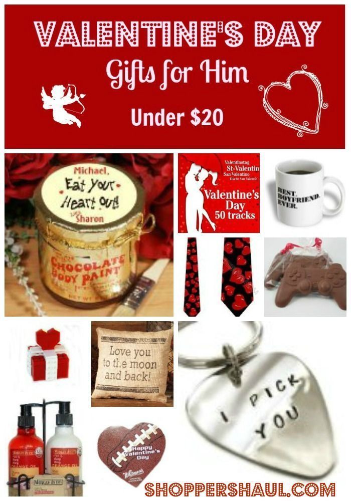 Valentine's Day Gifts for Him Under $20