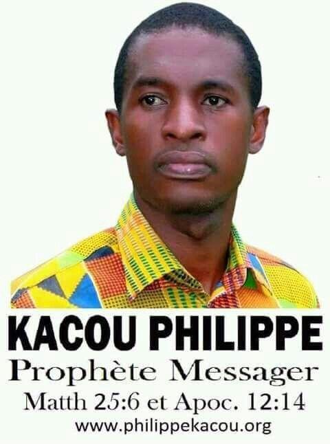 Jésus-Christ a envoyé le prophète Kacou Philippe pour apporter le salut en cette génération #ProphetKacouPhilippe Www… | Le prophete, Prédication, Paroles de la vie