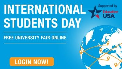 Sign Up to Join the International Students Day Online Fair