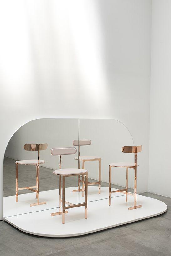 Bar stools for inspiration! See also: http://www.brabbu.com/en/inspiration.php